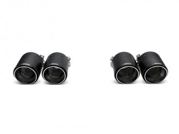 Akrapovic Tailpipes/Endrohre (Carbon) BMW M4 (F82, F83) 2014-, M3 (F80) 2014-
