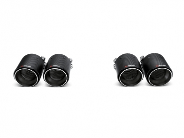 Akrapovic Tailpipes/Endrohre (Carbon) BMW M4 (F82, F83) 2014-, M3 (F80) 2014-
